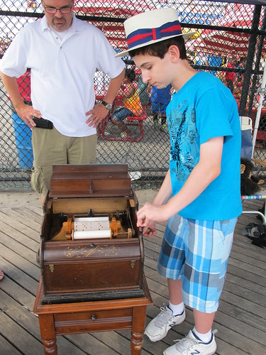 Ian Fraser History Day Deno's Wonder Wheel Park