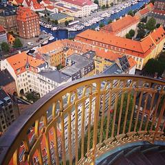 On top of #København skies