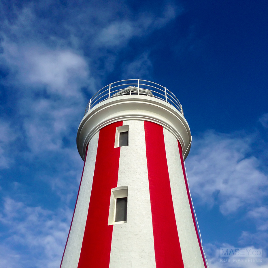 The Mersey Bluff Lighthouse, Devonport.