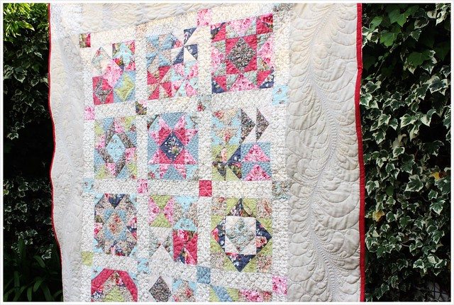 Feather Quilting Border