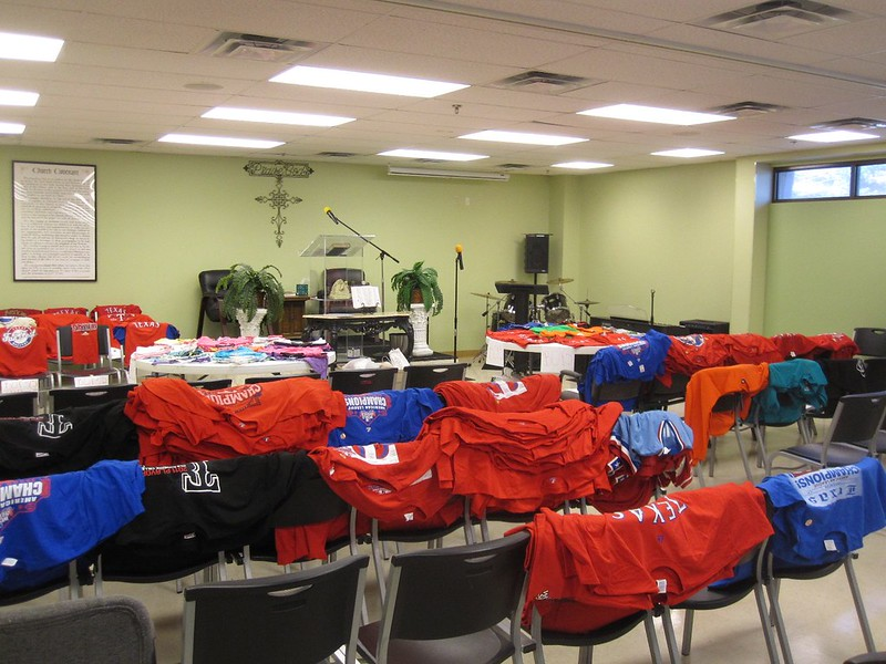 Rangers spirit was high with hundreds of balls, bobbles, and shirts ready to encourage 2013-2014 learners.