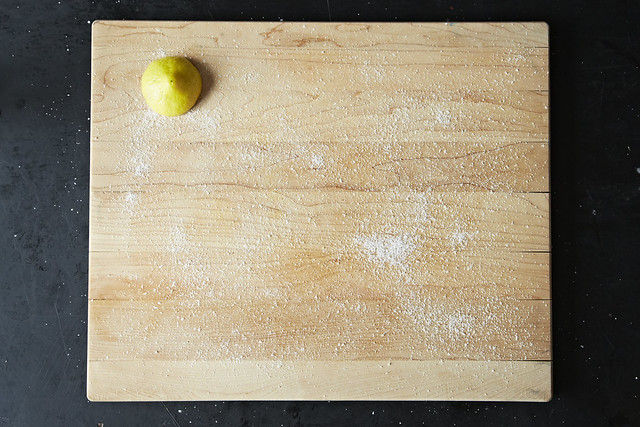 Cleaning with salt and lemon from Food52
