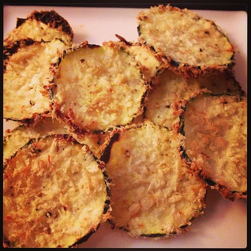Courgette / Zucchini Chips #snack