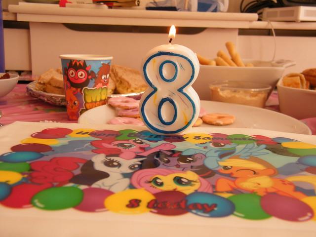 Sam's 8th birthday