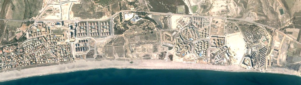 Playa de Vera, Almería, Vera Chuck and Dave, Peticiones del Oyente, antes, urbanismo, planeamiento, urbano, desastre, urbanístico, construcción