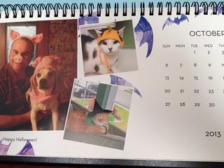 christmas calendar - october