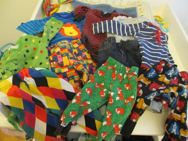 Sander 11 månader - axplock av kläder