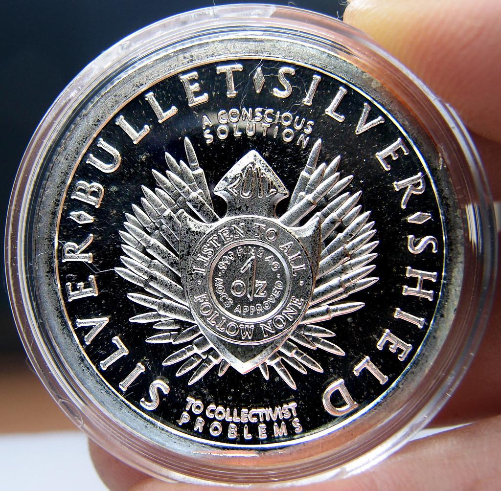 "Colección de onzas de plata "" Silver Bullets & Silver Shield"" 10174020314_5e9b176d29_b"