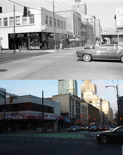 Northwest Corner of Richards & Dunsmuir - 1981/2014
