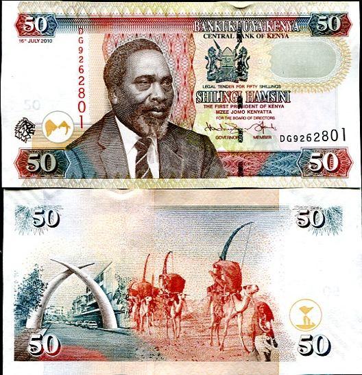 50 Šilingov Keňa 2010, Pick 47