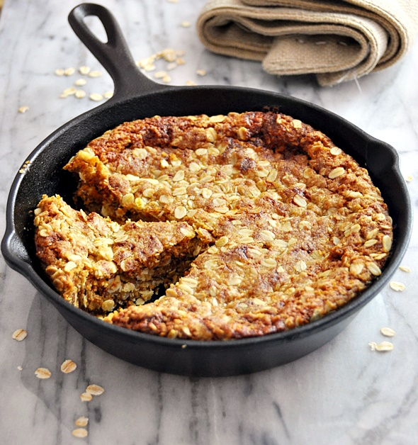 Vegan Friendly Skillet Olive Oil ANZAC Biscuit