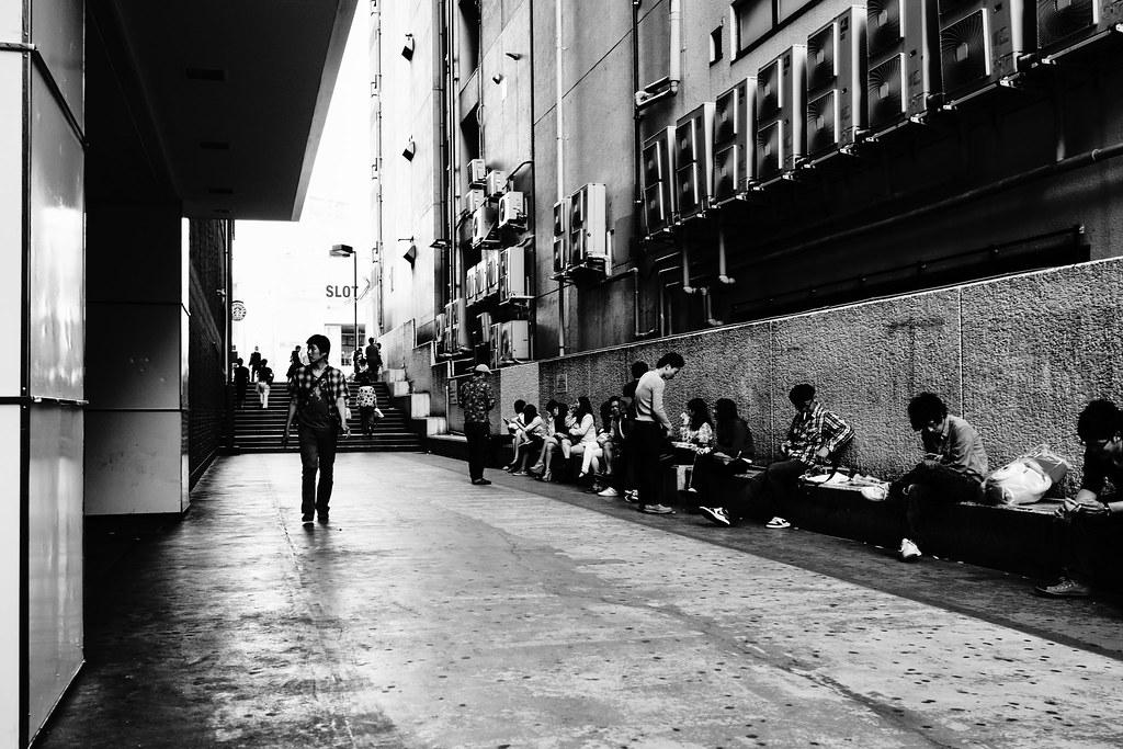 横浜×モノクロ⑤