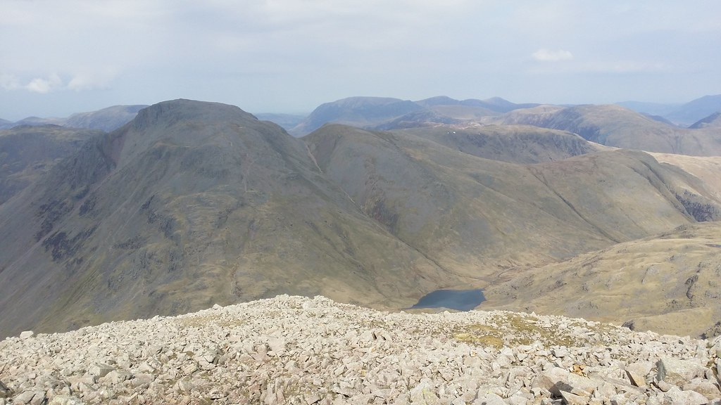 Great Gable etc from Great End #sh