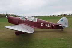 G-AEZJ Percival P.10 Popham