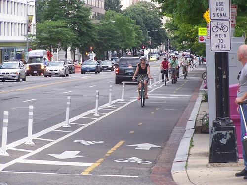 15th Street Cycletrack, Washington, DC