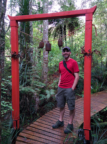 Japanese Torii Gates with Eric