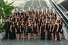 UH Manoa nursing undergraduate bachelor of science graduates at School of Nursing and Dental Hygiene recognition ceremony held on May 14, 2015, at the Hawaii Convention Center.