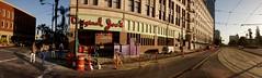 island, West San Carlos Street at South First Street, Downtown San Jose, May 2, 2015 (2)