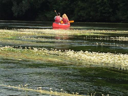 Canoeing on the Dordogne