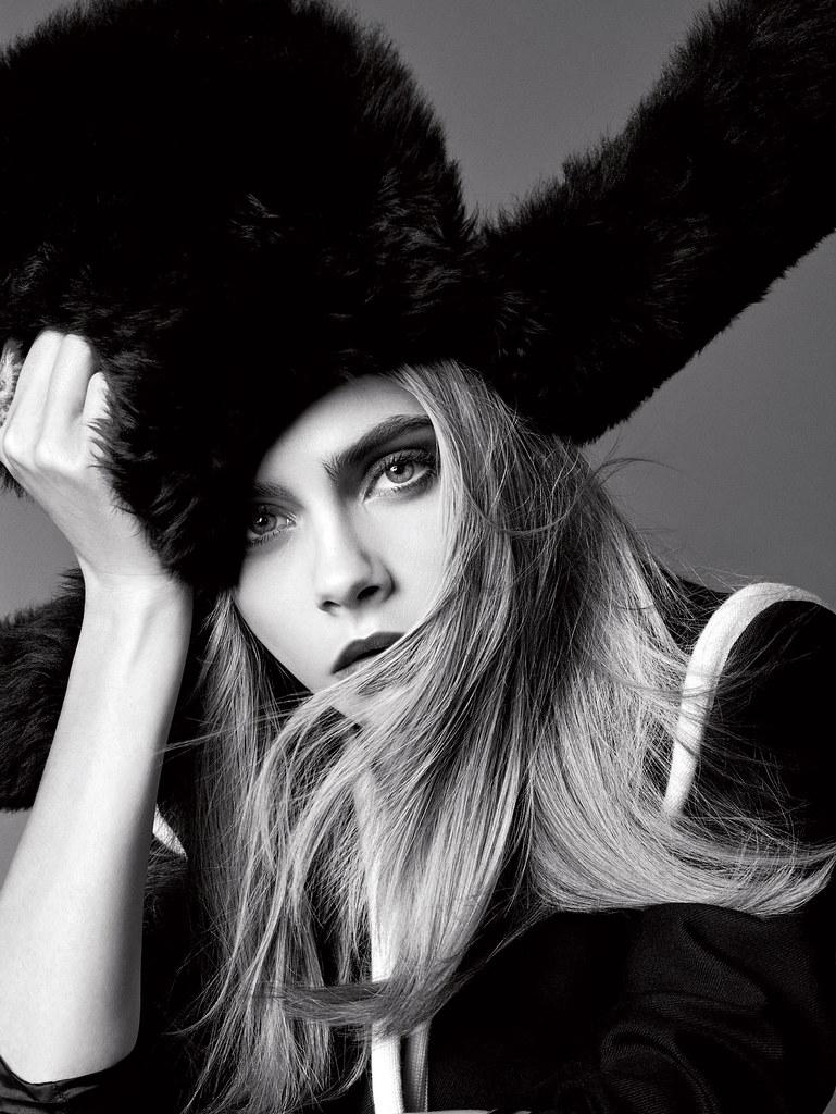 Кара Делевинь — Фотосессия для «Elle» 2016 – 1