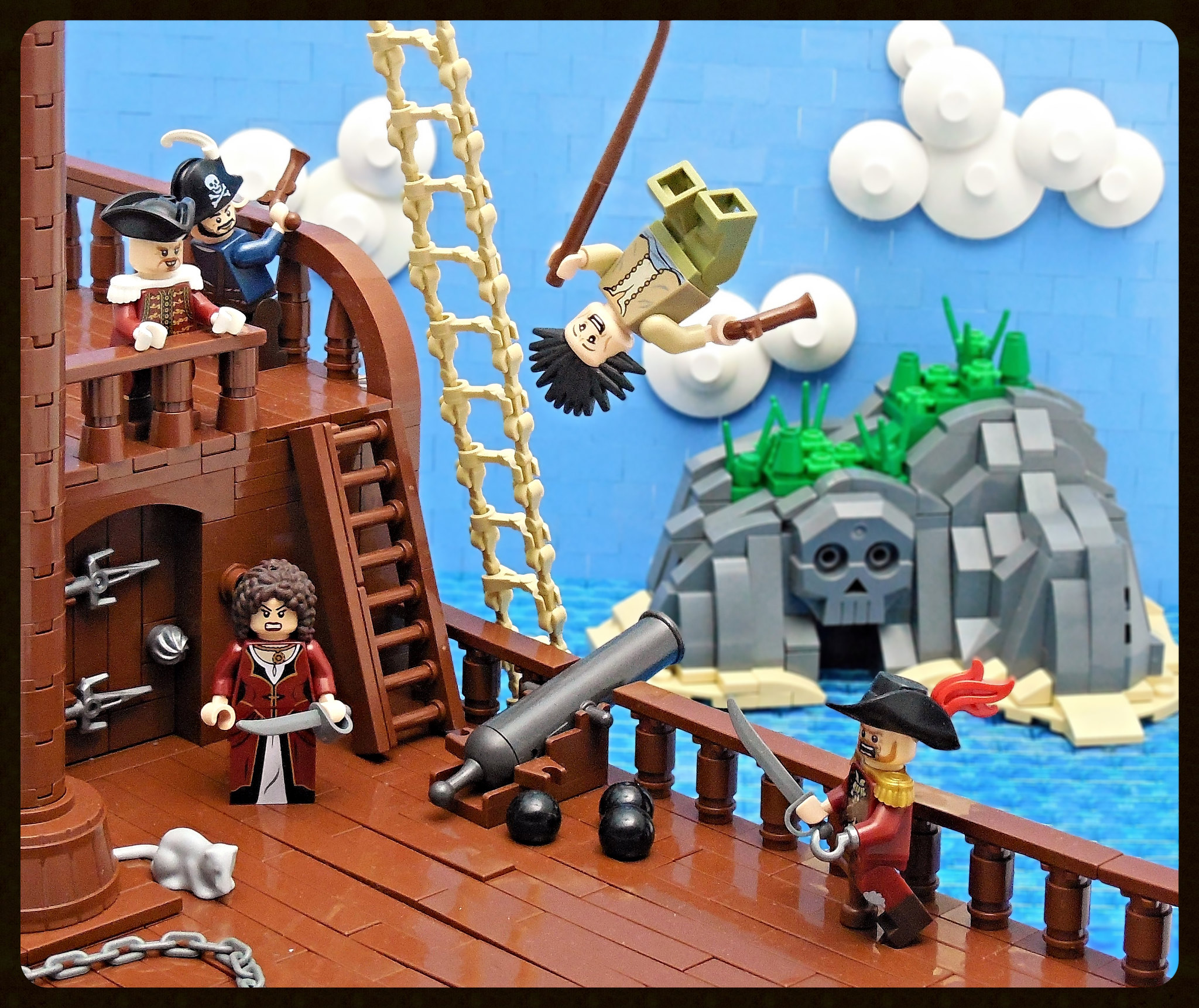 LEGO® MOC by Vitreolum: Pirate Cove