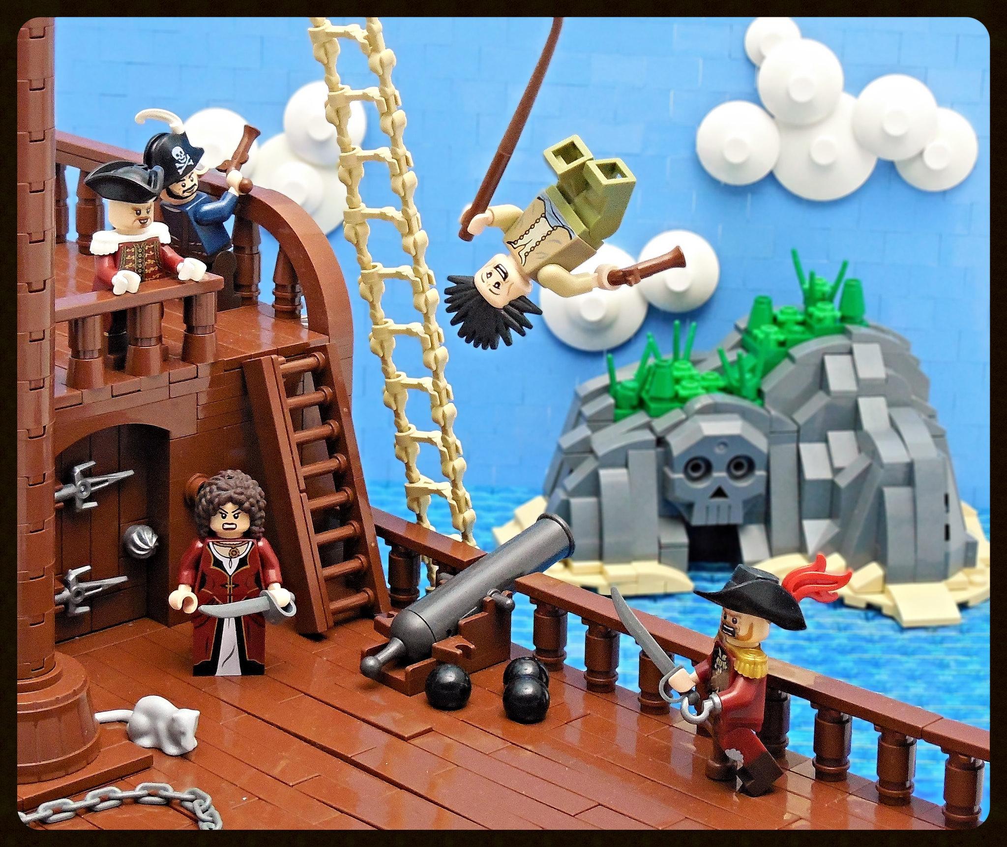 LEGO® MOC by Vitreolum: Pirate Cove