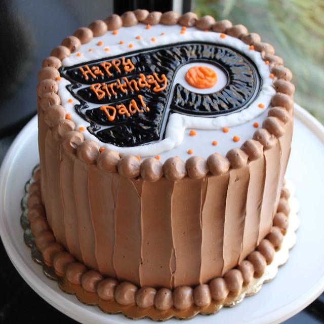 Philadelphia Flyers Birthday Cake