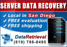 Server Data Recovery San Diego