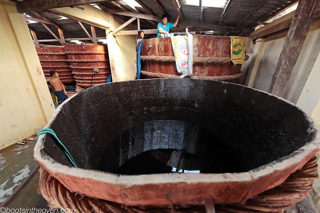 A look inside a tank