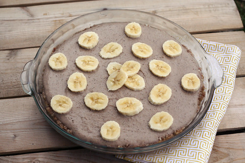 No-Bake Banana Cream Pie - Gluten-free + Vegan
