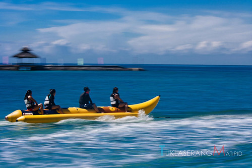 Paradise Island Davao City, Banana boat ride, Philippines, travel blog, Paradise, budget travel, Davao City, Mindanao