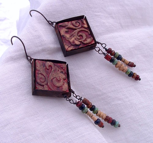 Silk Road Earrings