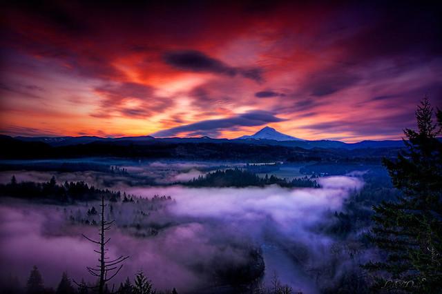Mt Hood at Twilight