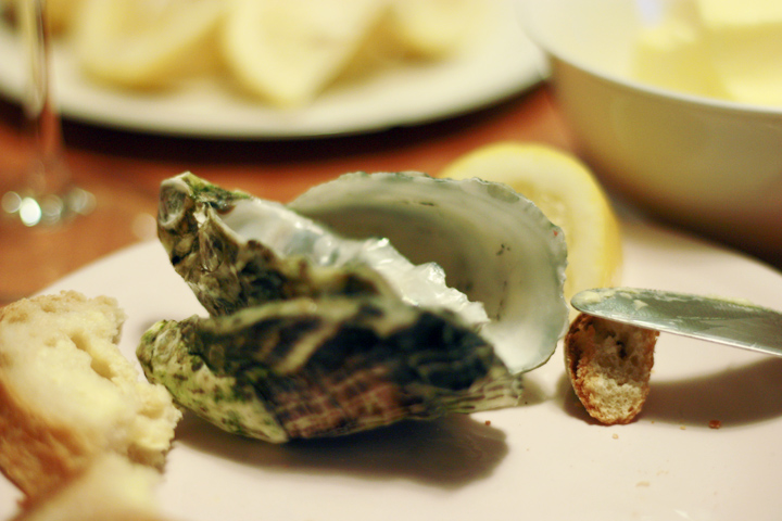 oysters a