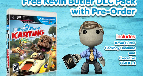Pre-Ordering LittleBigPlanet Kart Racer Will Let You Play as Kevin Butler