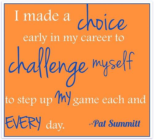 Pat Summitt Quotes: Amy Mac: The Summitt