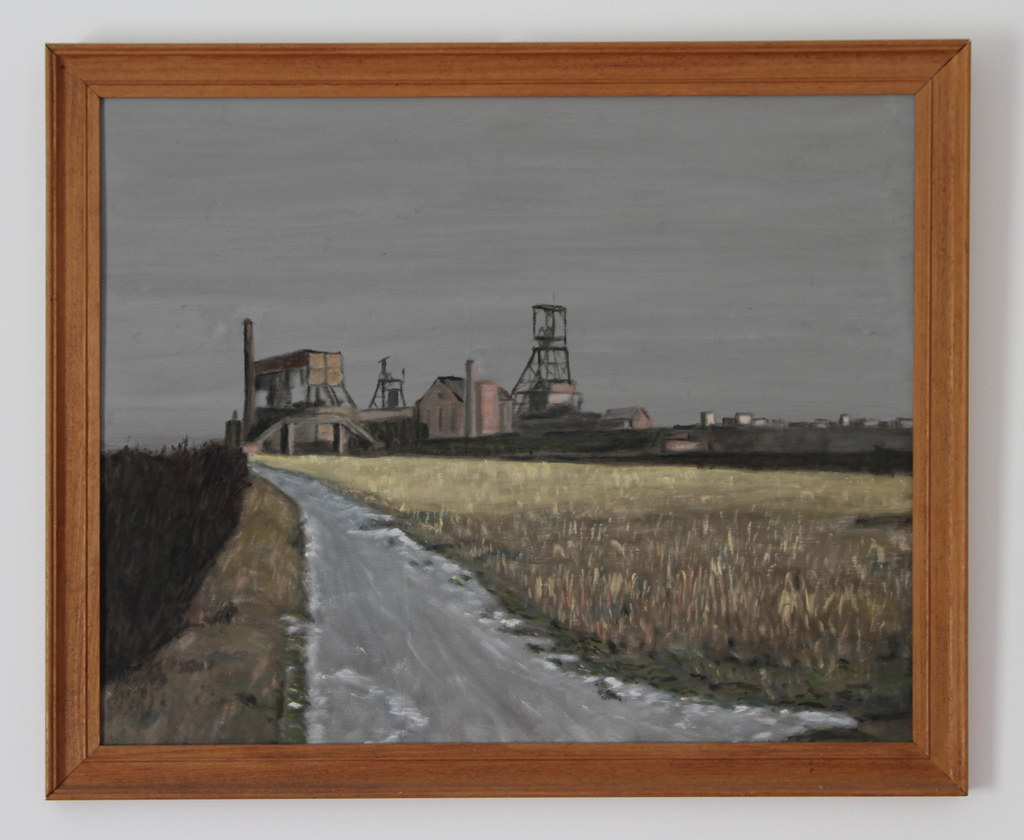 Winter, Bedford Colliery, 1963