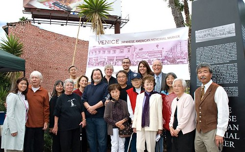 Japanese American Memorial Marker Unveiled