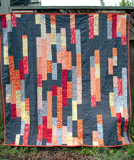Other side of the Garden Fence Quilt