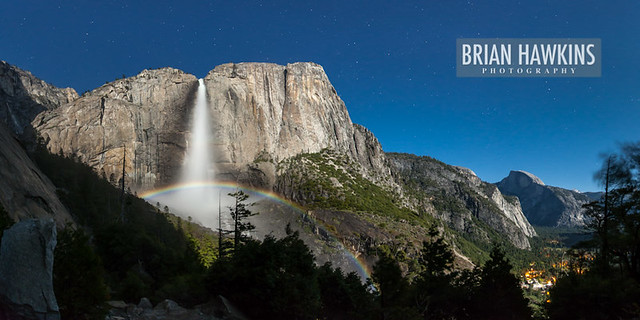 Moonbow Panorama