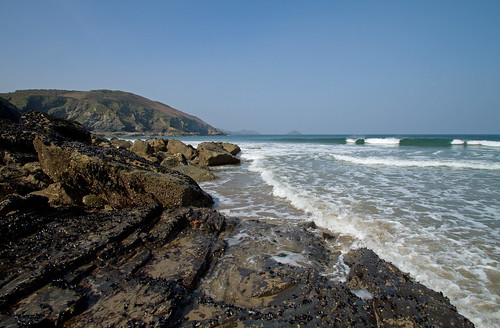 Lundy Bay, Cornwall