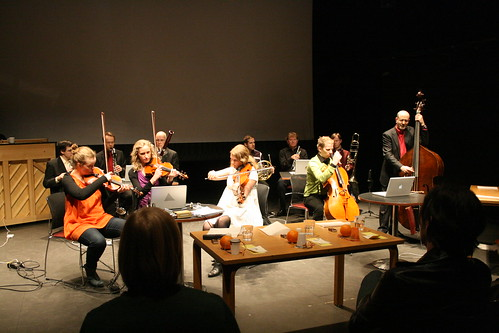 Contemporary music making with members of Reykjavik Chamber orchestra, Reykjavik Children's Festival