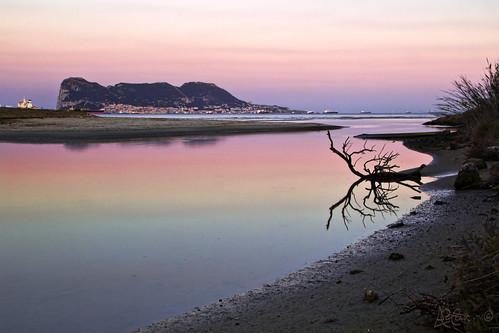 Río Guadarranque - Desembocadura (Límite oriental de Los Barrios) by Bakalito (Antonio Benítez Paz)
