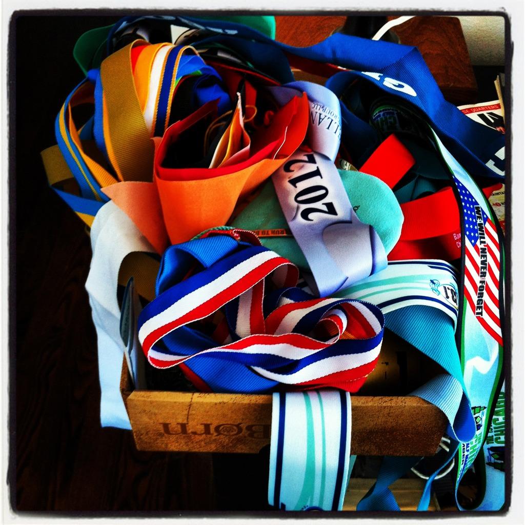 Xaarlin: Where I keep my race medals