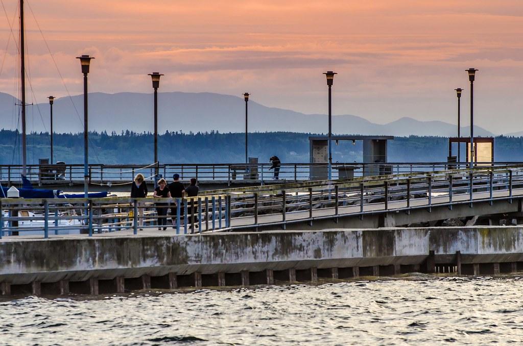 No 57 edmonds pier marina seattle photography for Seattle fishing pier