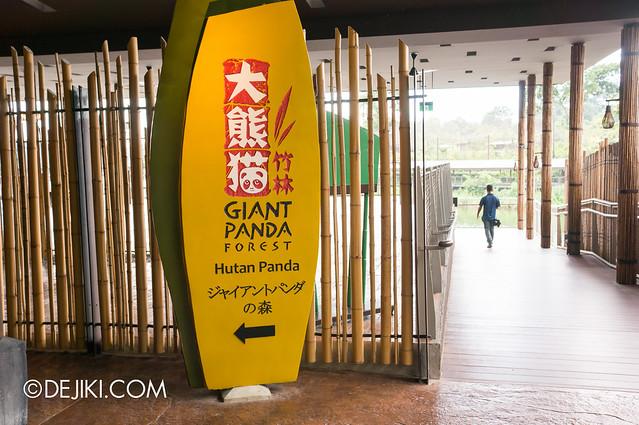 River Safari - Giant Panda Forest entrance