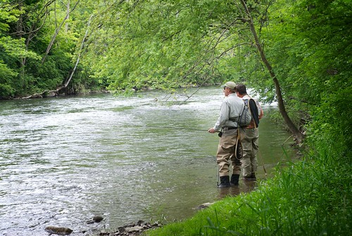 fly fishing Penns creek