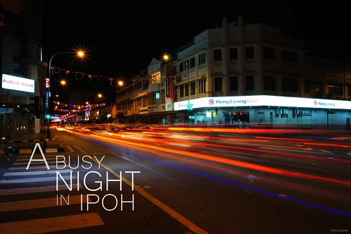 A Busy Night in Ipoh