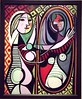Girl with a Mirror by Picasso at the MoMA