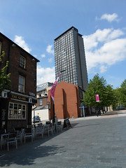 Howard Street - number 16s now a towerblock